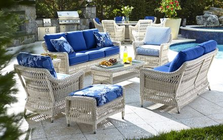 Provence Outdoor Wicker Collection