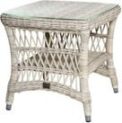 Provence Outdoor Wicker End Table