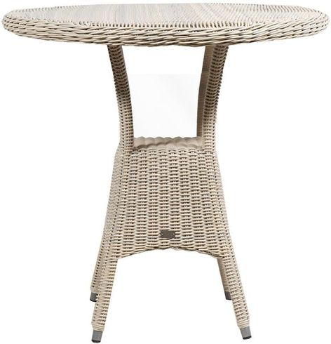 Provence Outdoor Wicker Pub Table