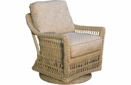 Provence Outdoor Wicker Swivel Glider