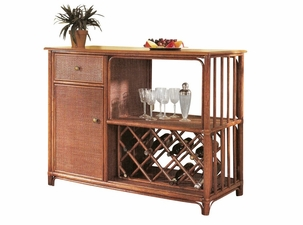 Rattan Bar Table