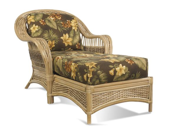 Rattan Chaise - Tropical Breeze