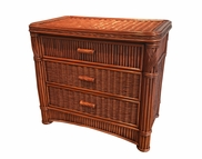 Rattan Chest : Barbados 3 Drawer