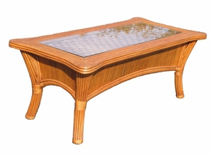 Rattan Coffee Table - Bombay