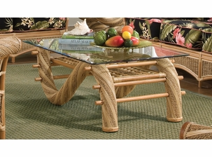 Rattan Coffee Table - Kona