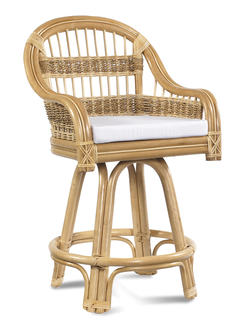 Rattan Counter Stool Tropical Breeze