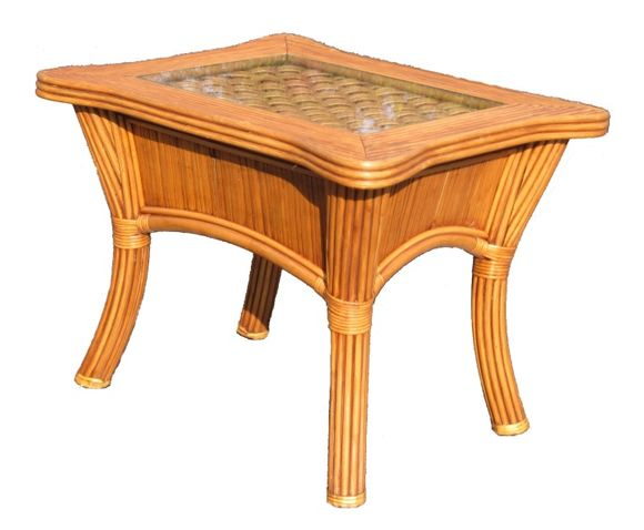 Rattan End Table - Bombay