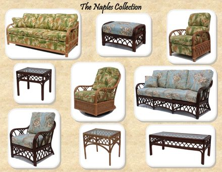 Rattan Furniture | Naples Collection- SHIPS IN 10-12 WEEKS