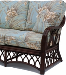 Rattan Loveseat - Naples