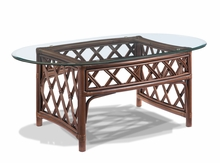 Rattan Oval Coffee Table