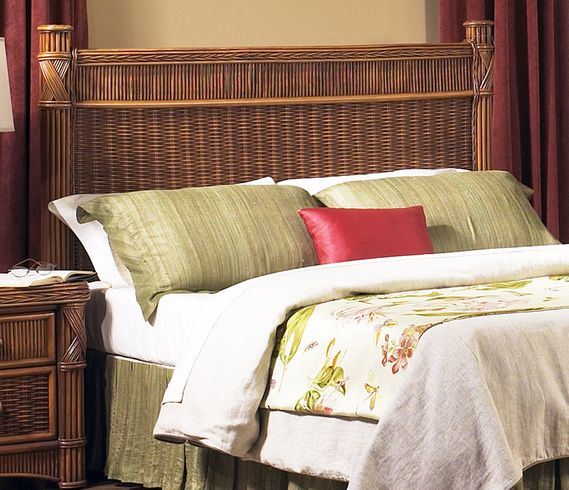 Rattan Queen Headboard - Barbados