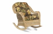 Rattan Rocker: Tropical Breeze