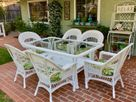 Resin Wicker Dining Set: Cape Cod Set of 7- Available in August