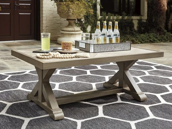 Roslyn Aluminum Coffee Table
