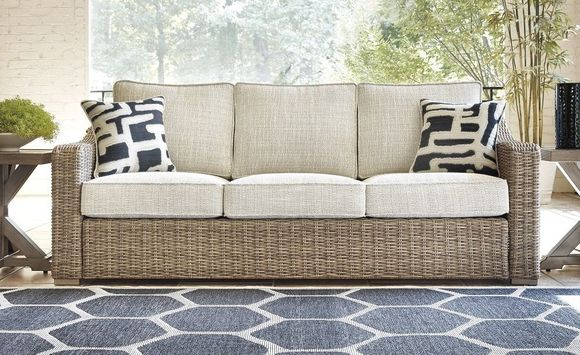 Roslyn Outdoor Wicker Sofa