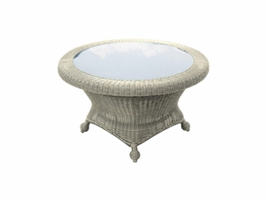San Jose Outdoor Wicker Chat Table