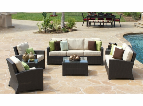 San Remo Outdoor Wicker Collection
