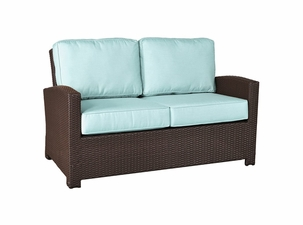 San Remo Outdoor Wicker Loveseat