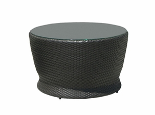 San Remo Outdoor Wicker Round Coffee Table