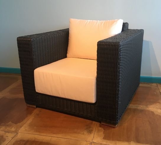 Santa Barbara Outdoor Wicker Chair