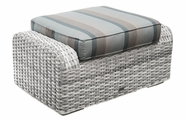 Santa Clara Outdoor Wicker Ottoman