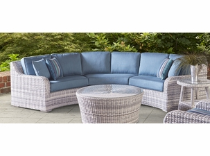 Santa Clara Outdoor Wicker Sectional