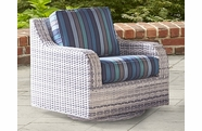 Santa Clara Outdoor Wicker Swivel Glider
