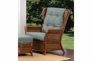 Santorini Rattan High Back Chair