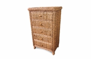 Seagrass 5 Drawer Chest - Miramar