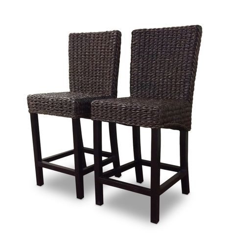 Seagrass  Counter  Stool Set of 2 - Barbados