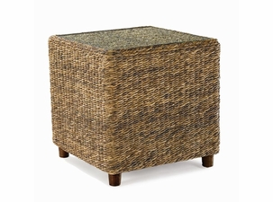 Seagrass End Table - Tangiers