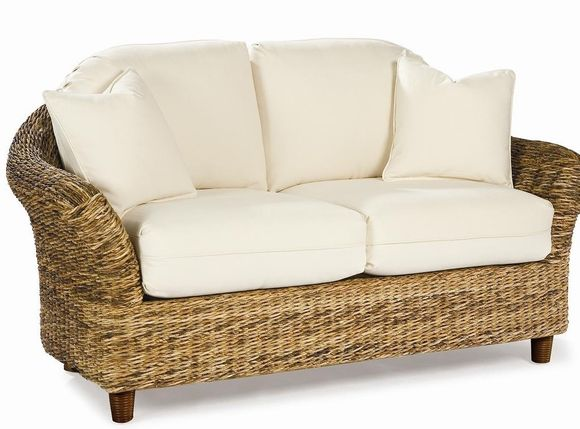 Loveseat Cushions - Seagrass Style