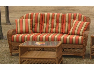 Sofa Cushion Set - Wicker Style