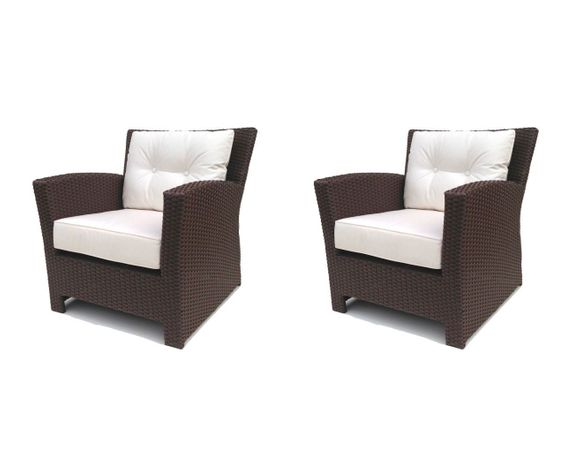 Sonoma Outdoor Wicker Chair Set of 2