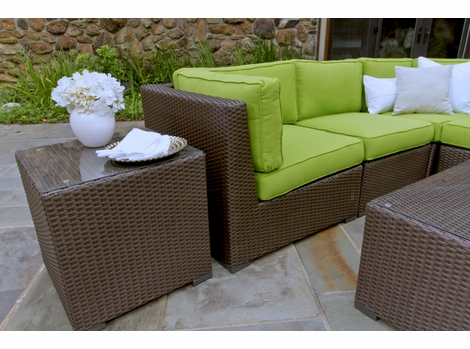 Sonoma Outdoor Wicker Sectional Collection