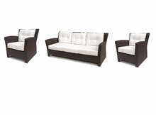 Sonoma Outdoor Wicker Set of 3- Sofa and 2 Chairs