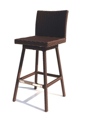 Sonoma Outdoor Wicker Swivel Barstool-Only 3 left