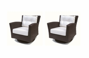 Sonoma Outdoor Wicker Swivel Rocker Set of 2