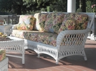 Statesboro Wicker Sofa