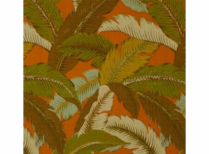 Swaying Palms Spice: Indoor/Outdoor Fabric