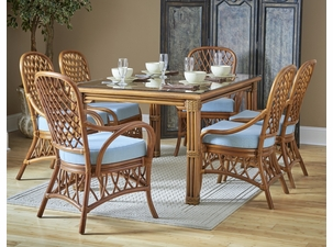 Tahiti Rattan Dining Set of 7
