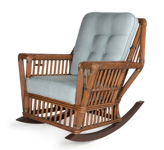 The Lodge Rattan Rocker