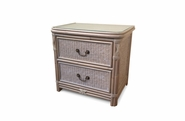 The Manor Rattan 2 Drawer Nightstand