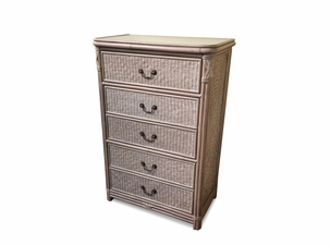 The Manor Rattan 5 Drawer Chest