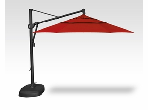 Treasure Garden QUICKSHIP 11 Foot Cantilever Umbrella with Base Included