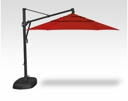Treasure Garden 11 Foot Cantilever Umbrella with Base Included