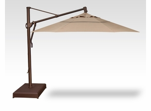 Treasure Garden QUICKSHIP 13 Foot Cantilever Umbrella with Base Included-ships in 5 days!