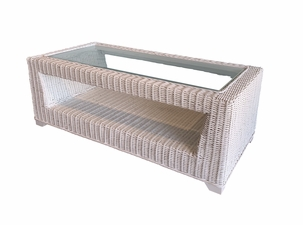 Verona Natural Wicker Coffee Table