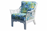 Warwick White Rattan Chair