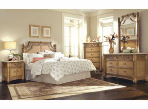 West Palm Rattan Bedroom Collection